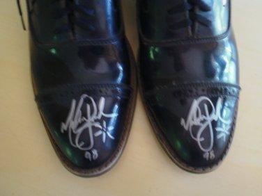 Michael Jackson Signed Shoes