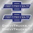 ChevyTrucks.tv Decal Sheet