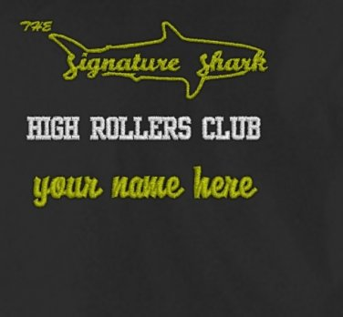 Signature Shark MEMBERS ONLY Jacket (HIGH ROLLERS CLUB)