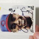 Ernie Banks Autographed Card