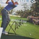 Jordan Spieth autographed magazine