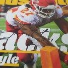 Kareem Hunt autographed magazine