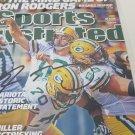 Aaron Rodgers autographed magazine
