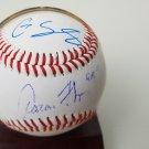 Aaron Judge & Gary Sanchez Dual signed baseball
