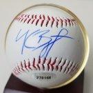 Kris Bryant autographed baseball