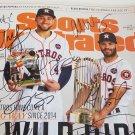 Houston Astros team signed magazine