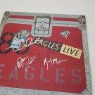 The Eagles autographed LP