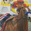 Justify (Mike Smith) autographed Magazine