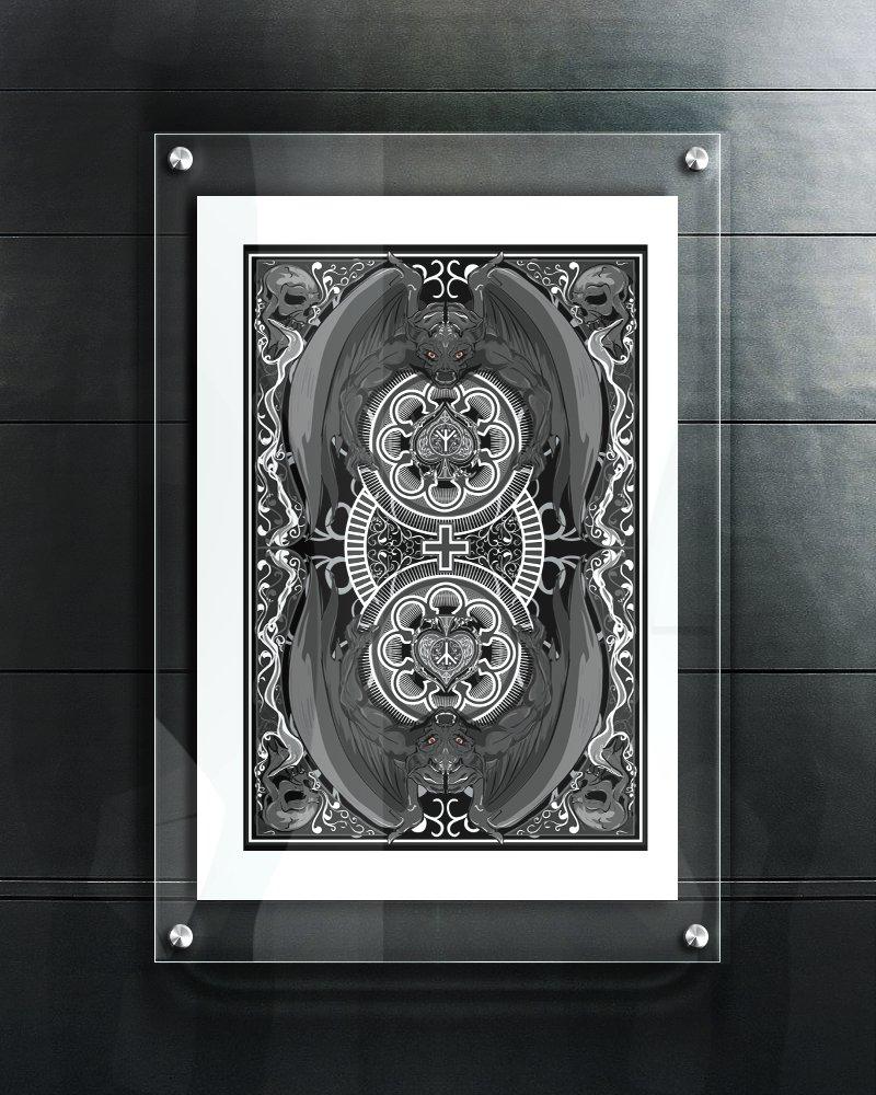 Gargoyles (13 x 19 Print)