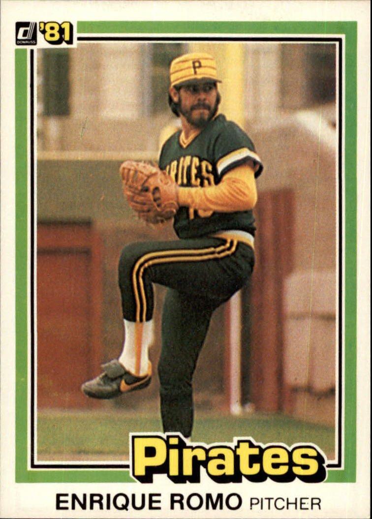 1981 Donruss 255 Enrique Romo