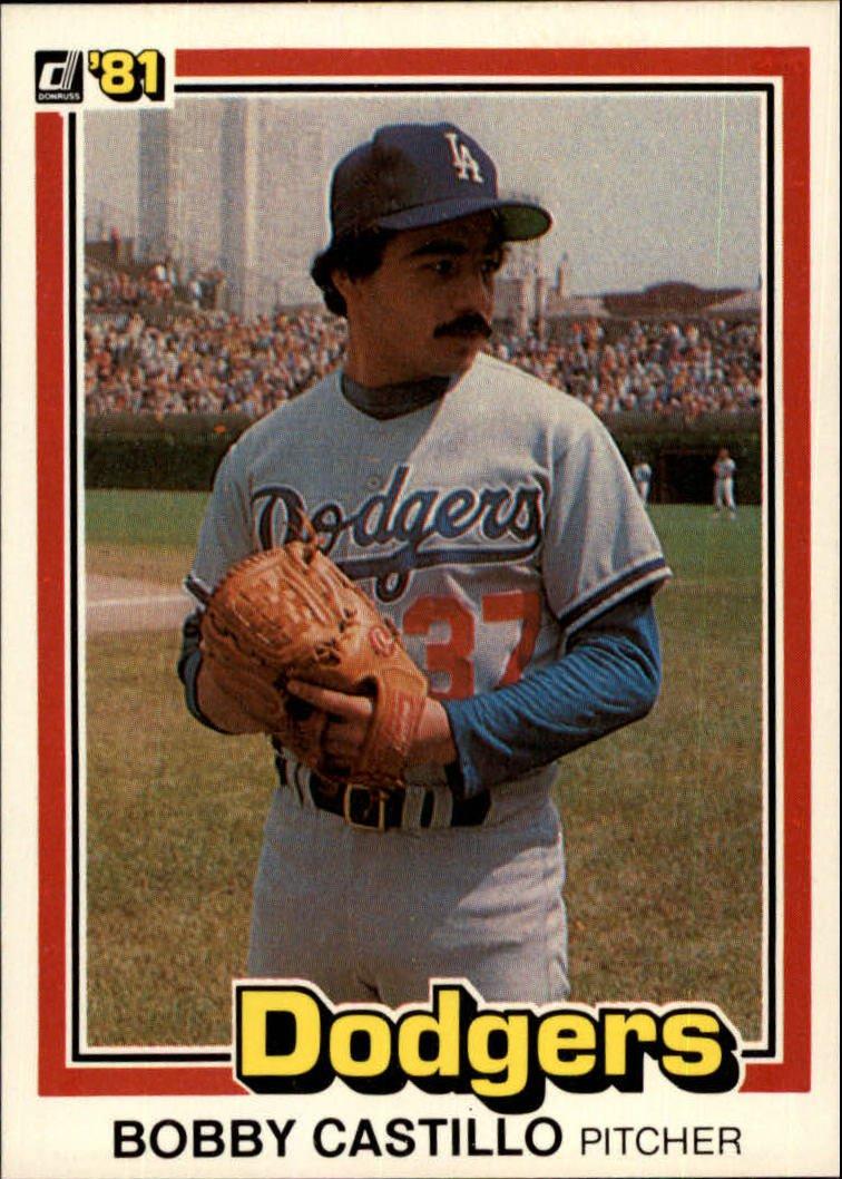 1981 Donruss 298 Bobby Castillo