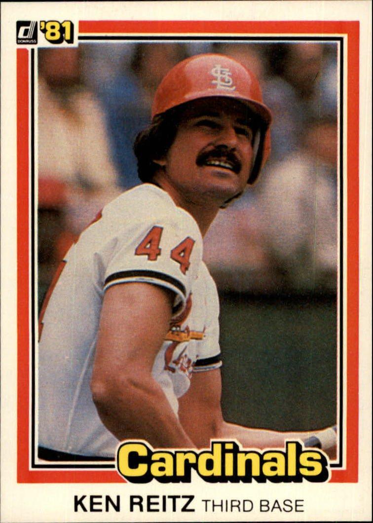 1981 Donruss 307 Ken Reitz