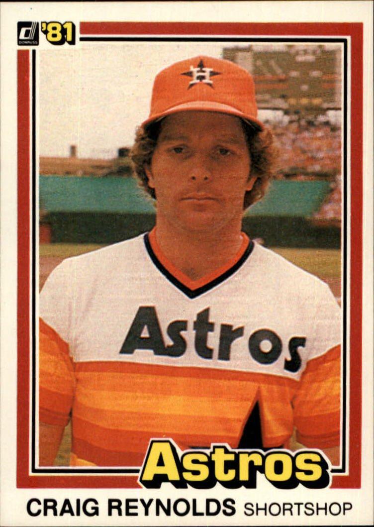 1981 Donruss 378 Craig Reynolds