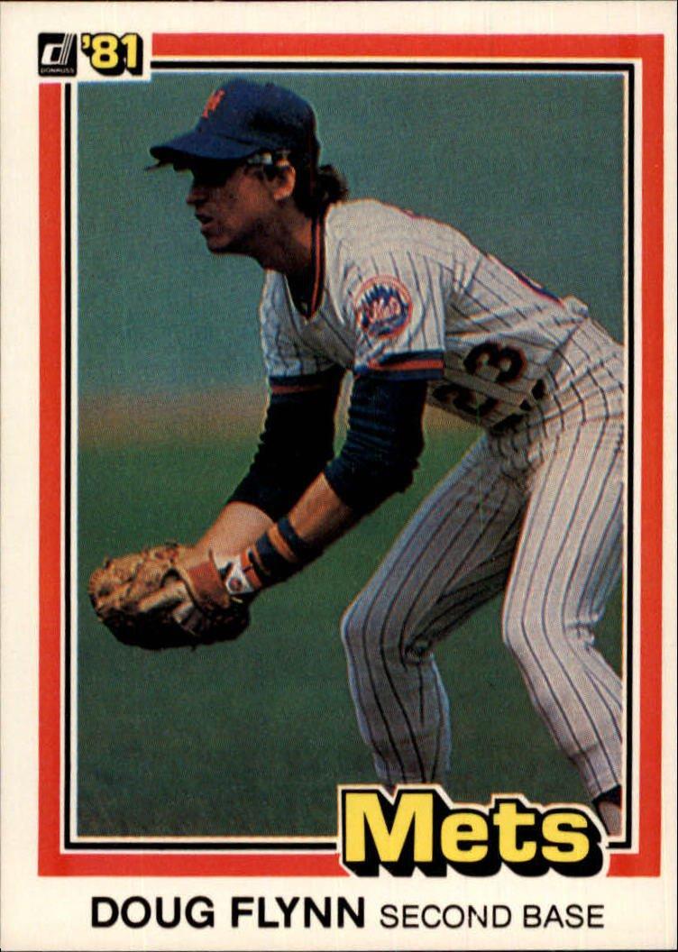 1981 Donruss 394 Doug Flynn