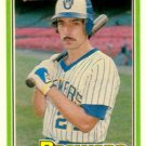 1981 Donruss 444B Buck Martinez/P2 COR