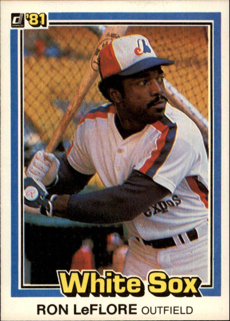 1981 Donruss 576 Ron LeFlore