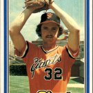 1981 Donruss 74 Ed Whitson