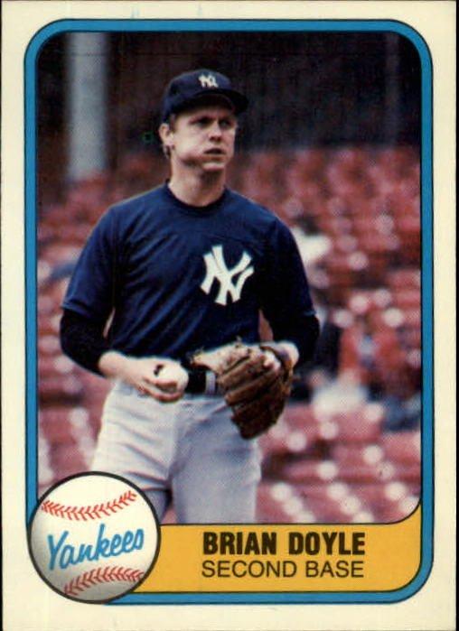 1981 Fleer 104 Brian Doyle