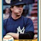 1981 Fleer 108 Tim Lollar
