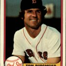 1981 Fleer 228 Tom Burgmeier