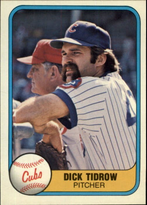 1981 Fleer 299 Dick Tidrow