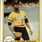 1981 Fleer 378 Grant Jackson