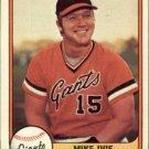 1981 Fleer 435 Mike Ivie