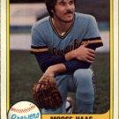 1981 Fleer 516 Moose Haas