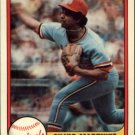 1981 Fleer 546 Silvio Martinez