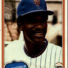 1981 Topps 151 Claudell Washington