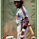 1981 Topps 319 Rowland Office