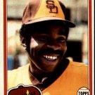1981 Topps 393 Broderick Perkins