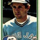 1981 Topps 444 Garth Iorg