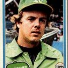 1981 Topps 503 Steve McCatty