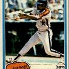 1981 Topps 560 Joe Morgan