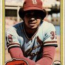 1981 Topps 586 Silvio Martinez