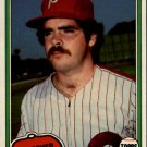 1981 Topps 53 Kevin Saucier