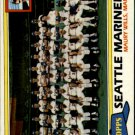 1981 Topps 672 Mariners Team CL/Maury Wills MG