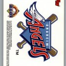 2001 Topps Opening Day Stickers 1 Anaheim Angels