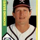 1990 Richmond Braves CMC 25 Brian Snyder