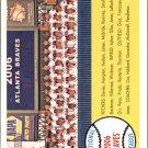 2007 Topps Heritage 377 Atlanta Braves TC
