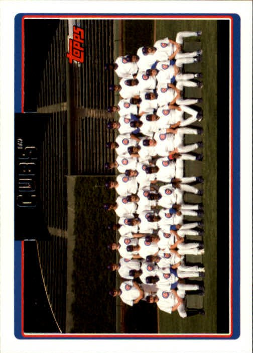 2006 Topps 607 Chicago Cubs TC