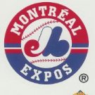 2001 Topps Opening Day Stickers 18 Montreal Expos