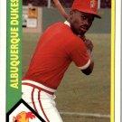 1990 Albuquerque Dukes CMC 23 Wayne Kirby