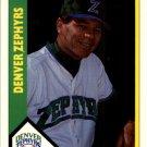 1990 Denver Zephyrs CMC 25 Dave Machemer MGR