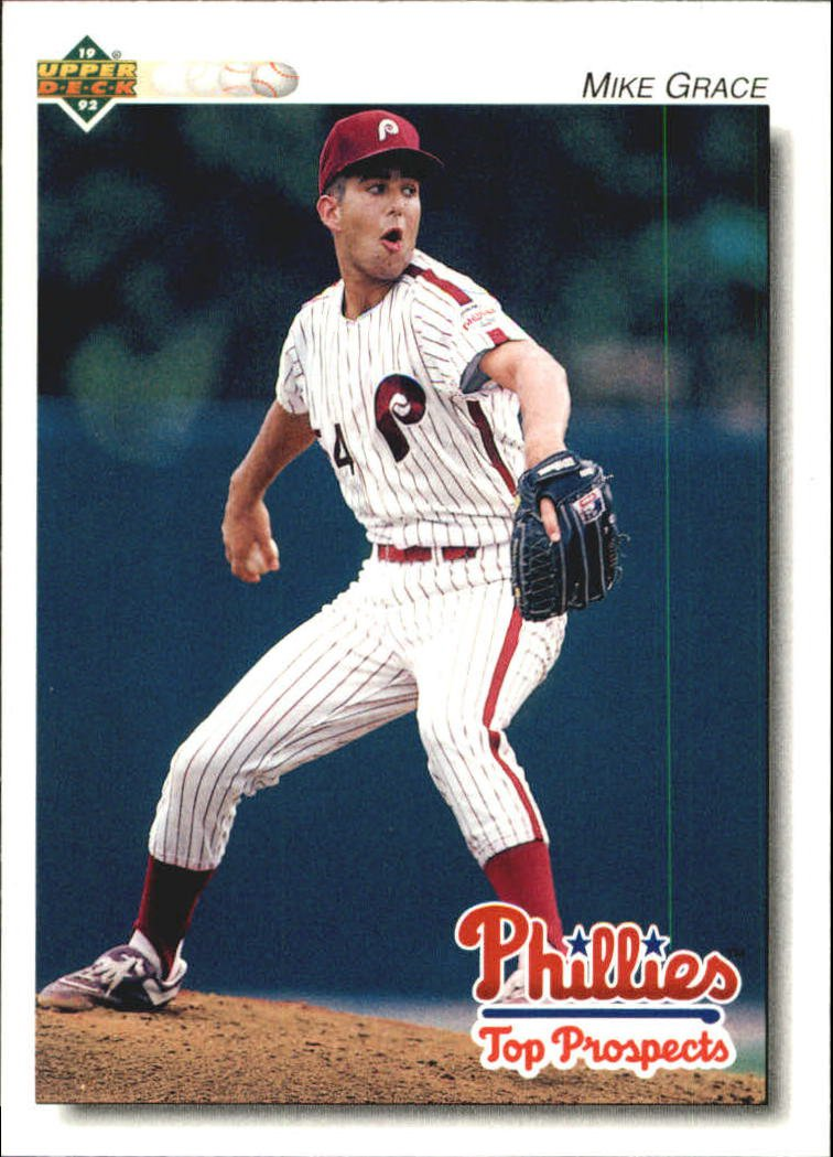 1992 Upper Deck Minors 217 Mike Grace