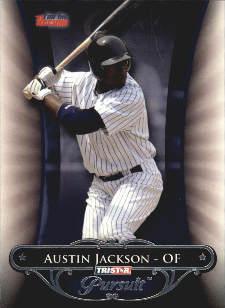 2010 TRISTAR Pursuit #58 Austin Jackson