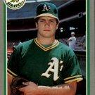 1985 Fleer 436 Curt Young