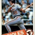 1985 Topps 109 Gary Roenicke