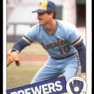 1985 Topps 203 Bob McClure